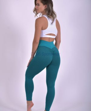 NC Geo Textured Leggings Jade