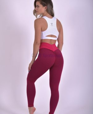 NC Geo Textured Amorinha Leggings And Biker Shorts