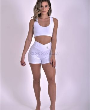 NC Branco Mesh Short Shorts