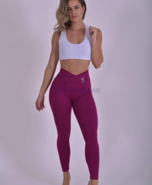 Confort Leggings Roxo (Custom-Made)