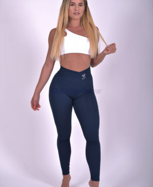 NC Trance Textured Leggings Marinho