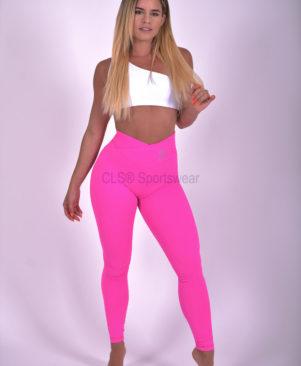 NC Trance Textured Leggings Pink