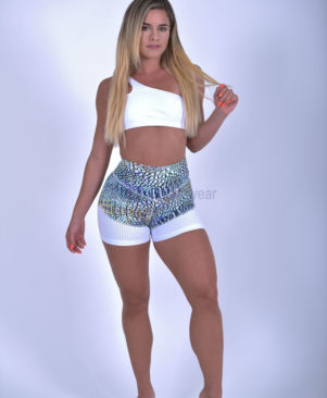 NC Shape Wild Lizard Mesh Shorts