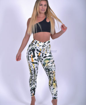 Shape Wild Cheetah Leggings (Custom-Made)