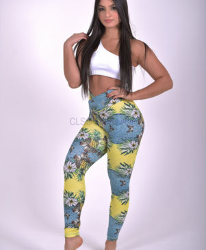 NC Shape Wild Butterfly Leggings