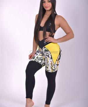 NC Mix Yellow Cheetah Leggings