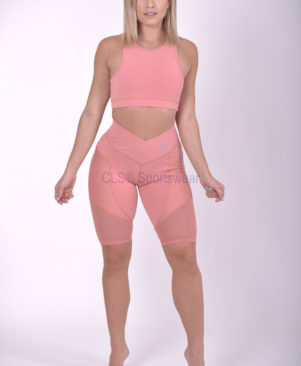 NC Side Pocket Mesh Biker Shorts Merge