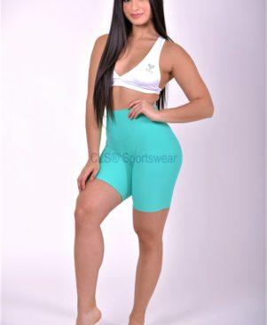 NC Sensory Textured Biker Shorts Lapis
