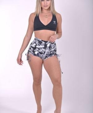NC Maxxy Camo Side Tie Shorts