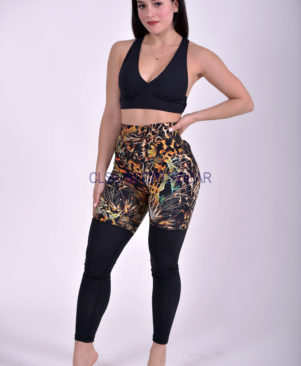 NC Yoga Leggings Shape Fuego Mesh