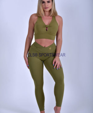 NC Shape Stacy Top Olive Drab