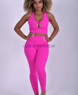 NC Yoga Leggings Shape Pink Glo