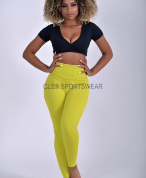 NC Trance Textured Leggings Caipirinha