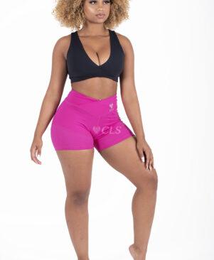 NC Mesh Short Shorts Carmin