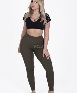 NC Trance Textured Leggings Camuflagem