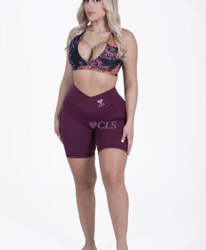 NC Confort Malbec V Waist Biker Shorts