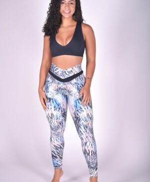 NC Shape Mystic Zebra Seamless Front Leggings