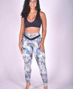 NC Shape Mystic Zebra Seamless Front Leggings