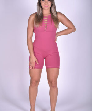 NC Active Jumpsuit Rose Wine