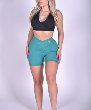 NC Shape Seamless Front Shorts Fuse Vivid Green