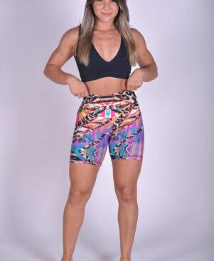 NC Shape Biker Shorts African