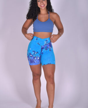NC Shape Biker Shorts Pixelated