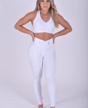 Shape Motion Leggings Branco (Custom-Made)