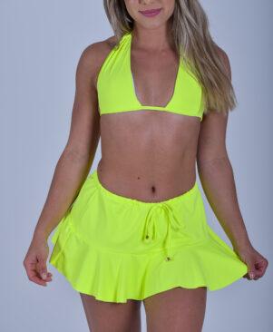 NC Lui Mini Skirt Neo Yellow