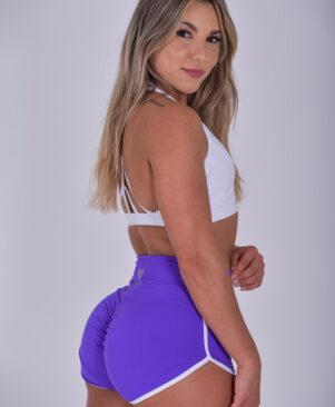 NC Meia-Lua Confort Short Shorts Peony