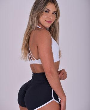 NC Meia-Lua Confort Short Shorts Preto
