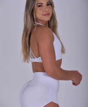 NC Meia-Lua Confort Short Shorts Branco